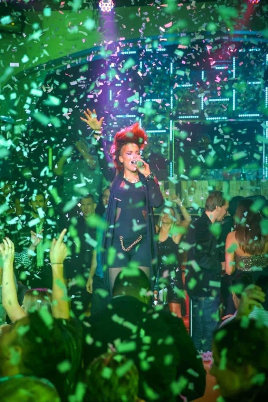 Eva Simons performs at Hyde Bellagio, Las Vegas, 12.30.13