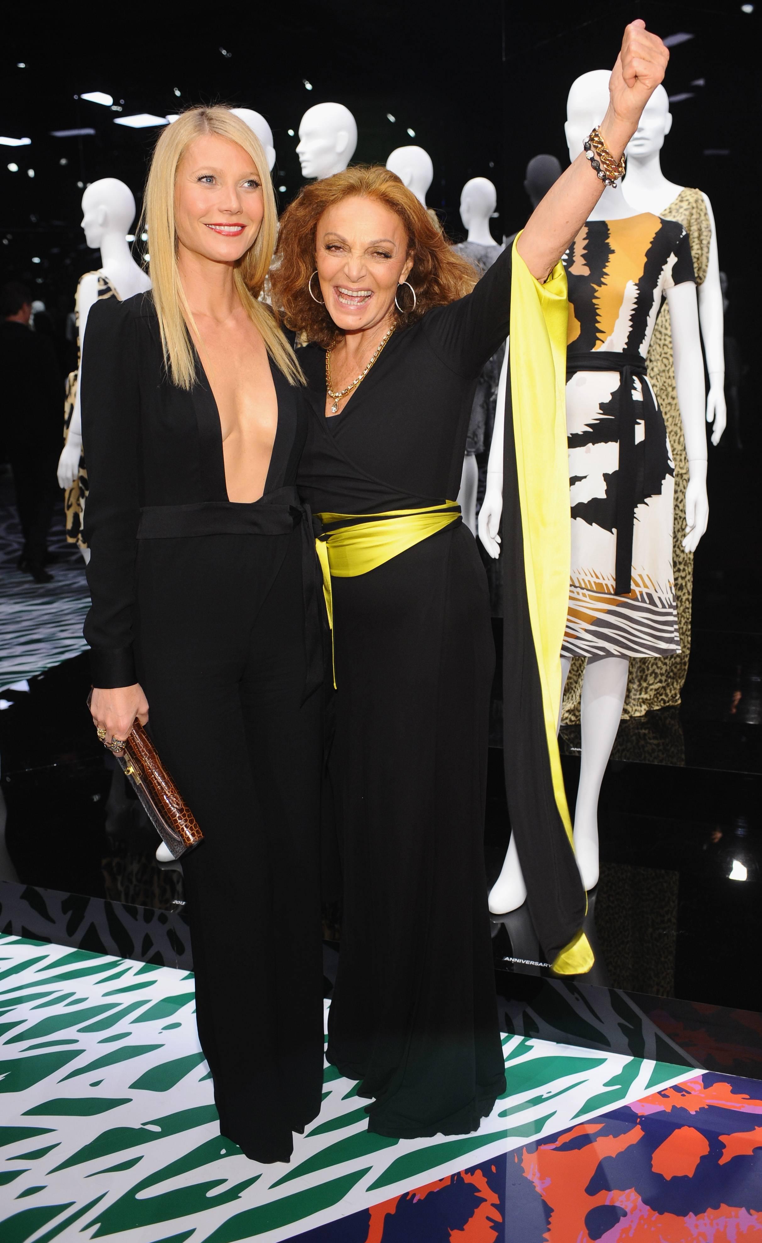 Diane Von Furstenberg's Journey Of A Dress Exhibition Opening Celebration – Inside