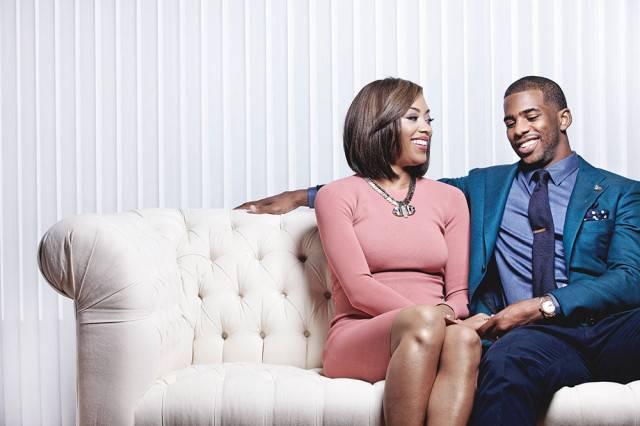 Chris and wife Jada