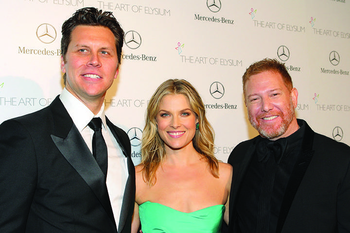 Hayes MacArthur, Ali Larter  and Ryan Kavanaugh
