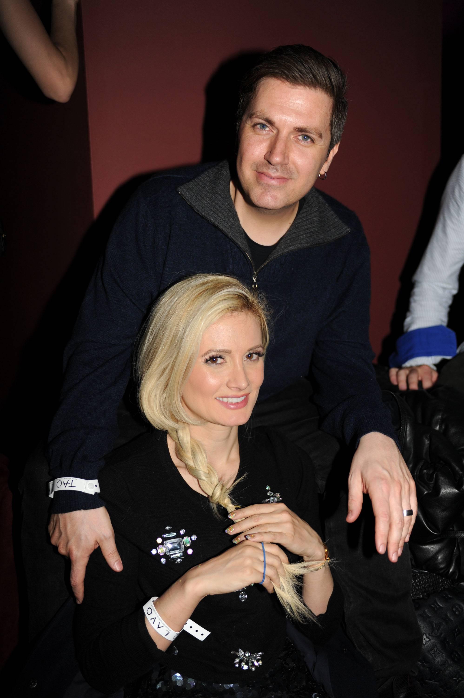 Holly Madison and husband Pasquale Rotella at TAO at Village at the Lift with Moet & Chandon and Stella Artois