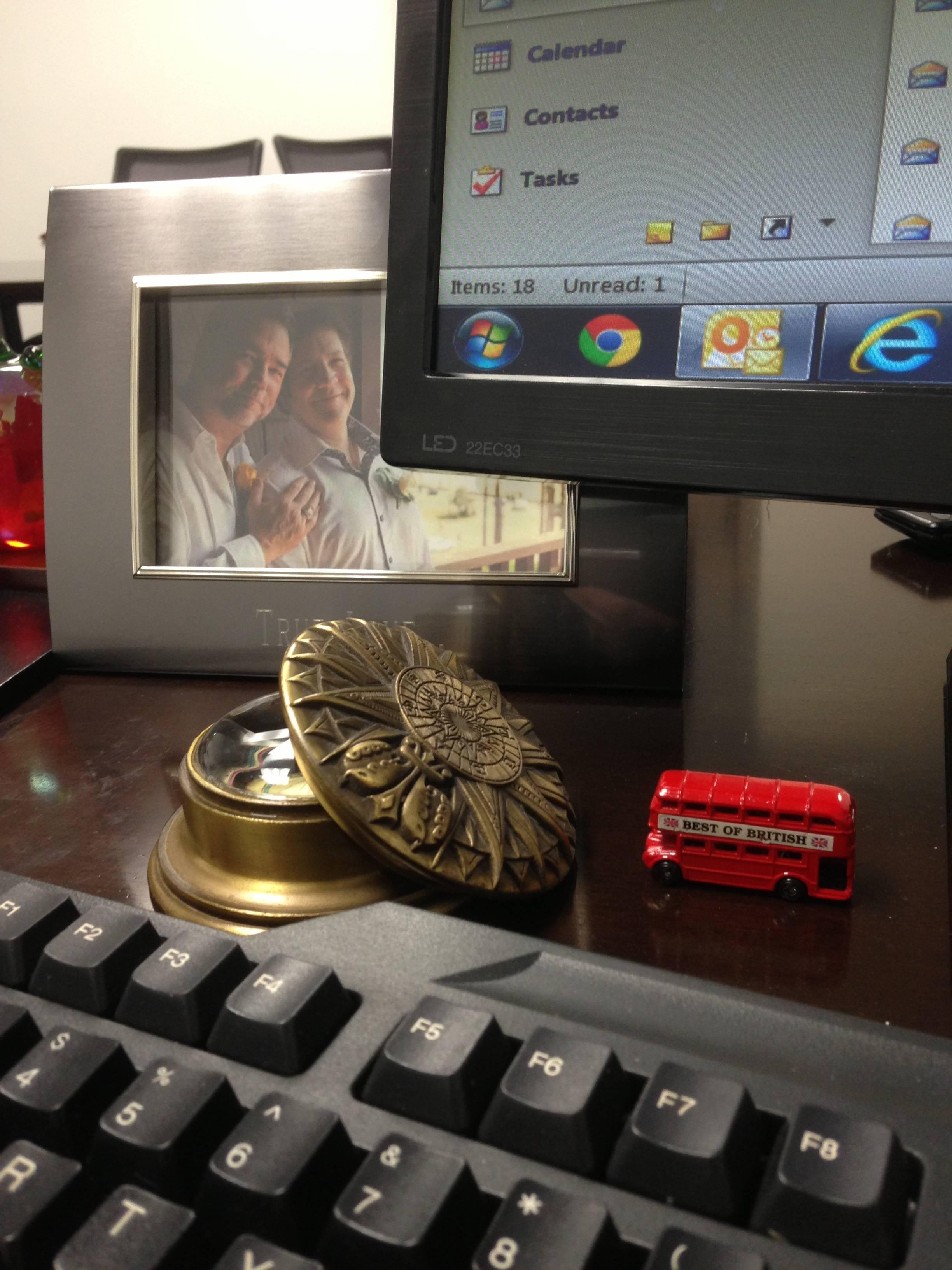 Jeff Kulek Desk
