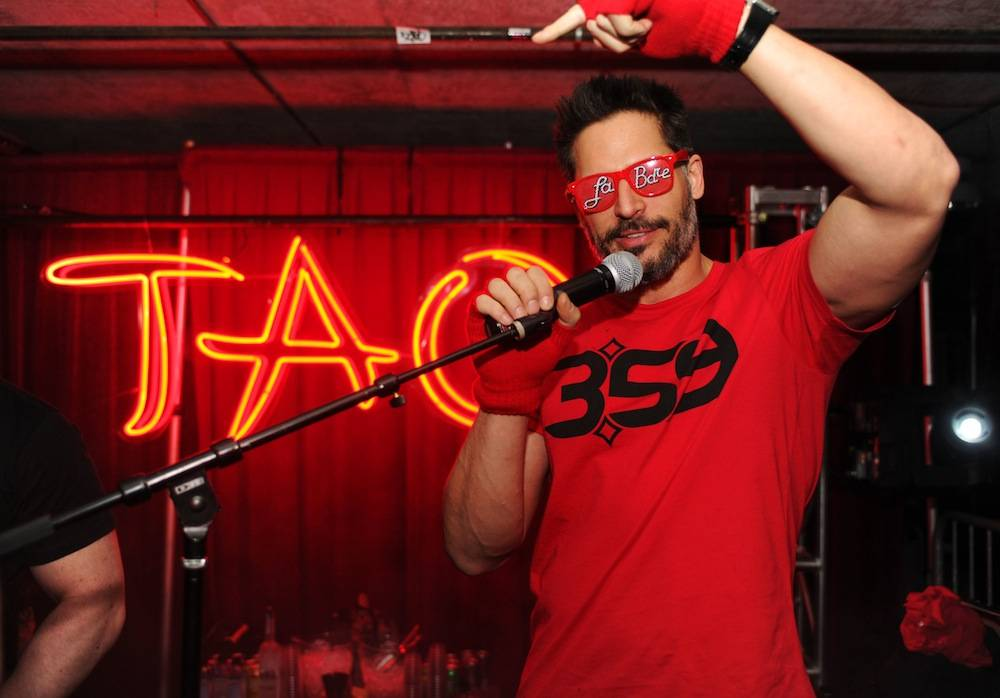 "Joe Manganiello at ""Le Bare"" After Party at Tao at Village at The Lift with Moët & Chandon Nectar Impérial Rosé & Stella Artois. Photos: Seth Browarnik/WorldRedEye.com"