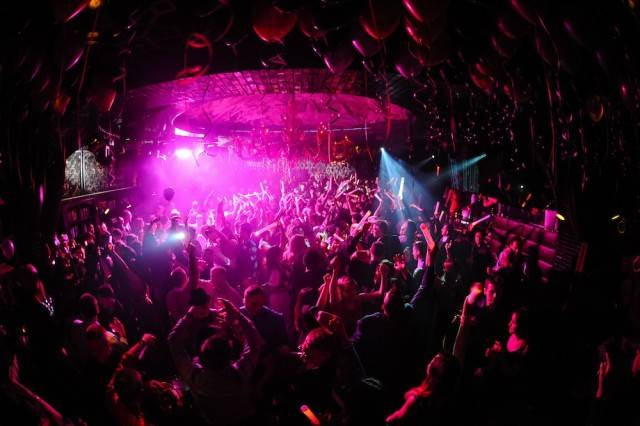 The scene at Lavo on New Year's Eve. Photos: Brenton Ho/Powers Imagery