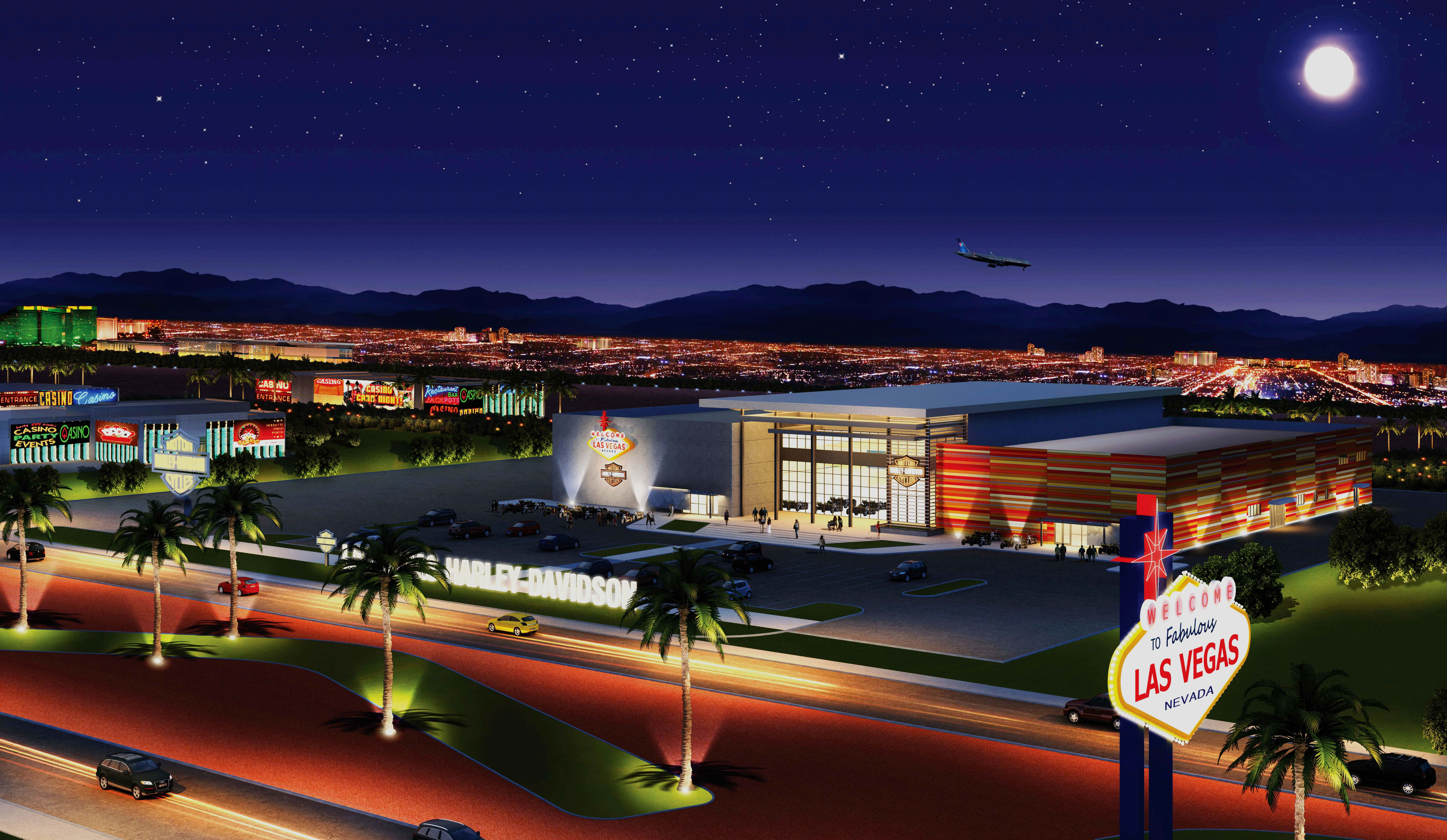 Harley Davidson Breaks Ground On A Third Vegas Location Haute Living