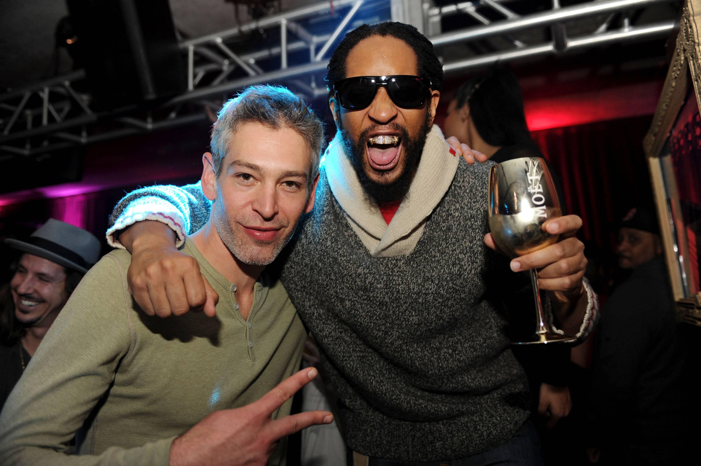 Lil Jon and Matisyahu at TAO at Village at the Lift with Moet & Chandon and Stella Artois