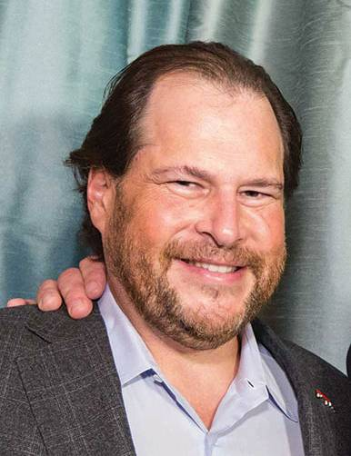 Marc Benioff  Credit: Drew Altizer Photography