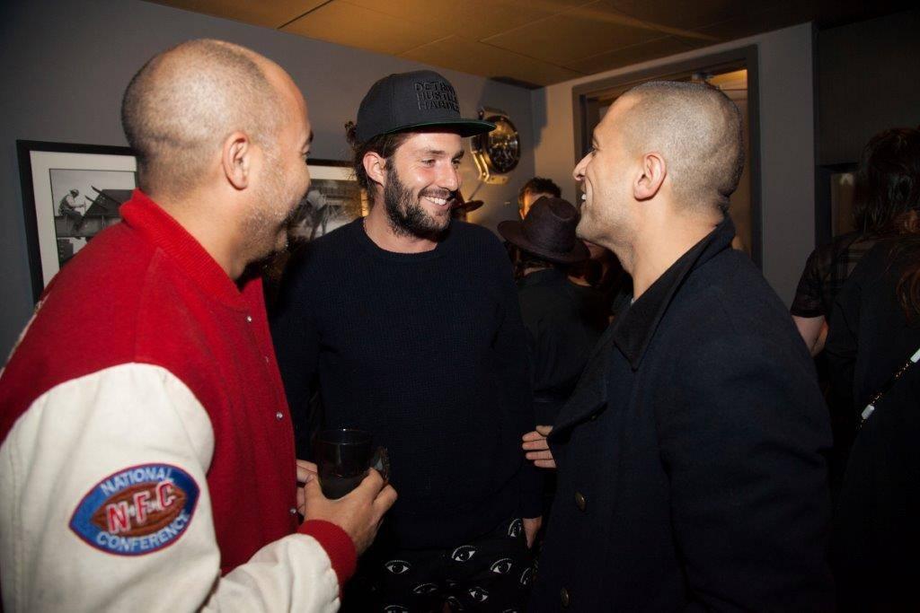Max Osterweis (Designer), Phil Winser (restauranter), Ben Pundole (influencer)