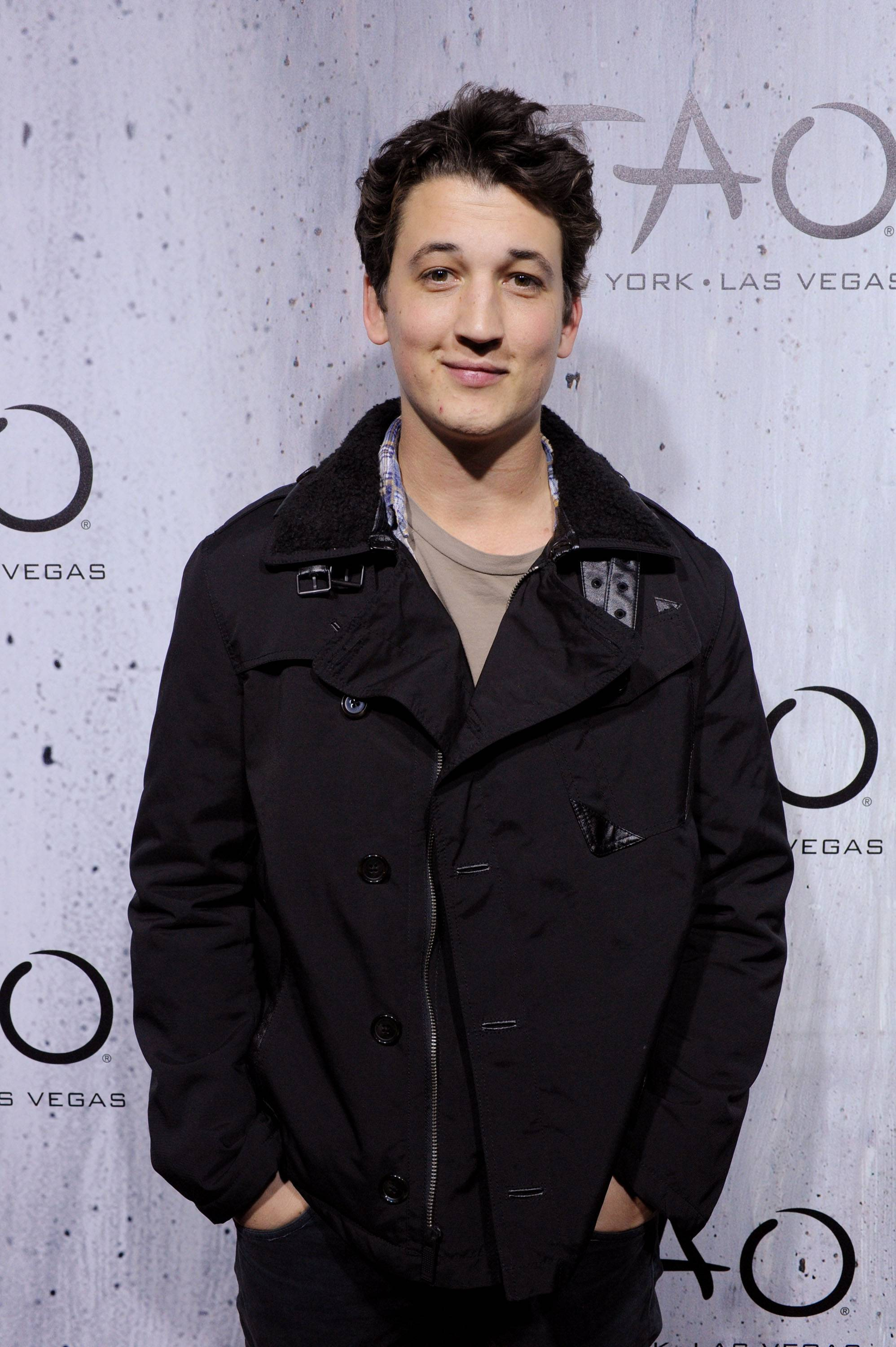 Miles Teller at TAO at Village at the Lift with Moet and Stella Artois