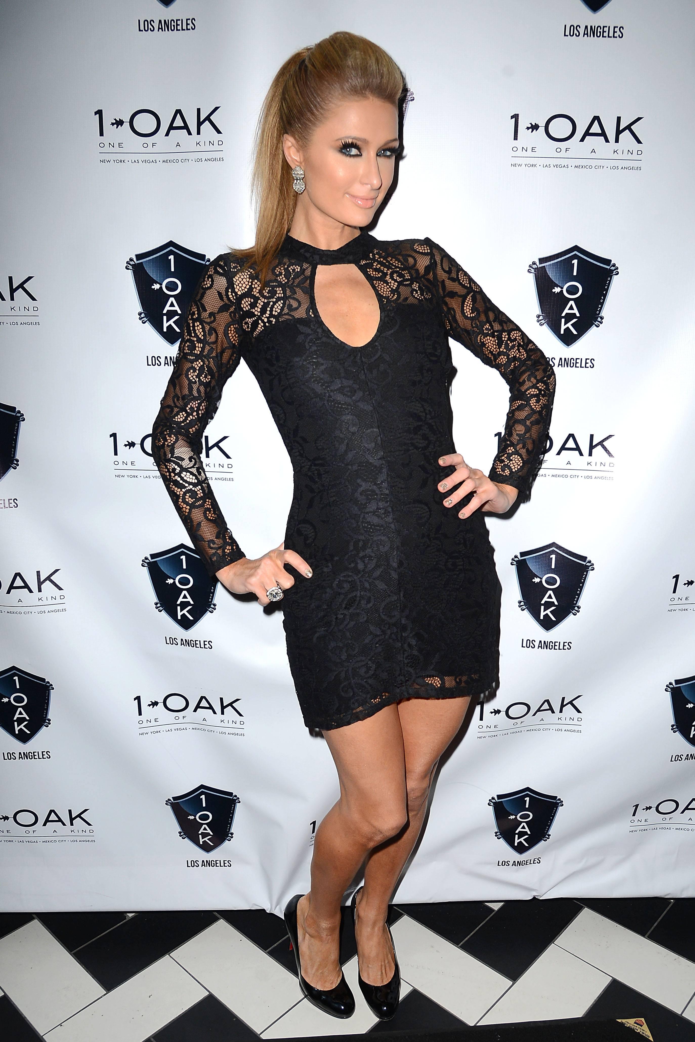 Paris Hilton. 1 OAK LA. 1.25