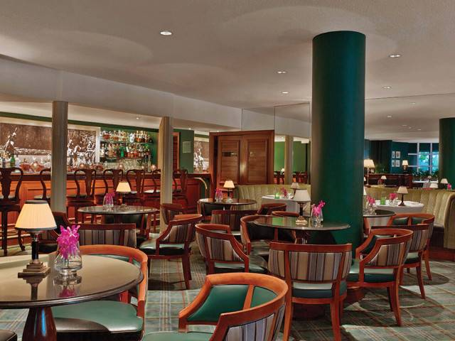 Polo Lounge Bar Credit to The Beverly Hills Hotel and Eric Laignel