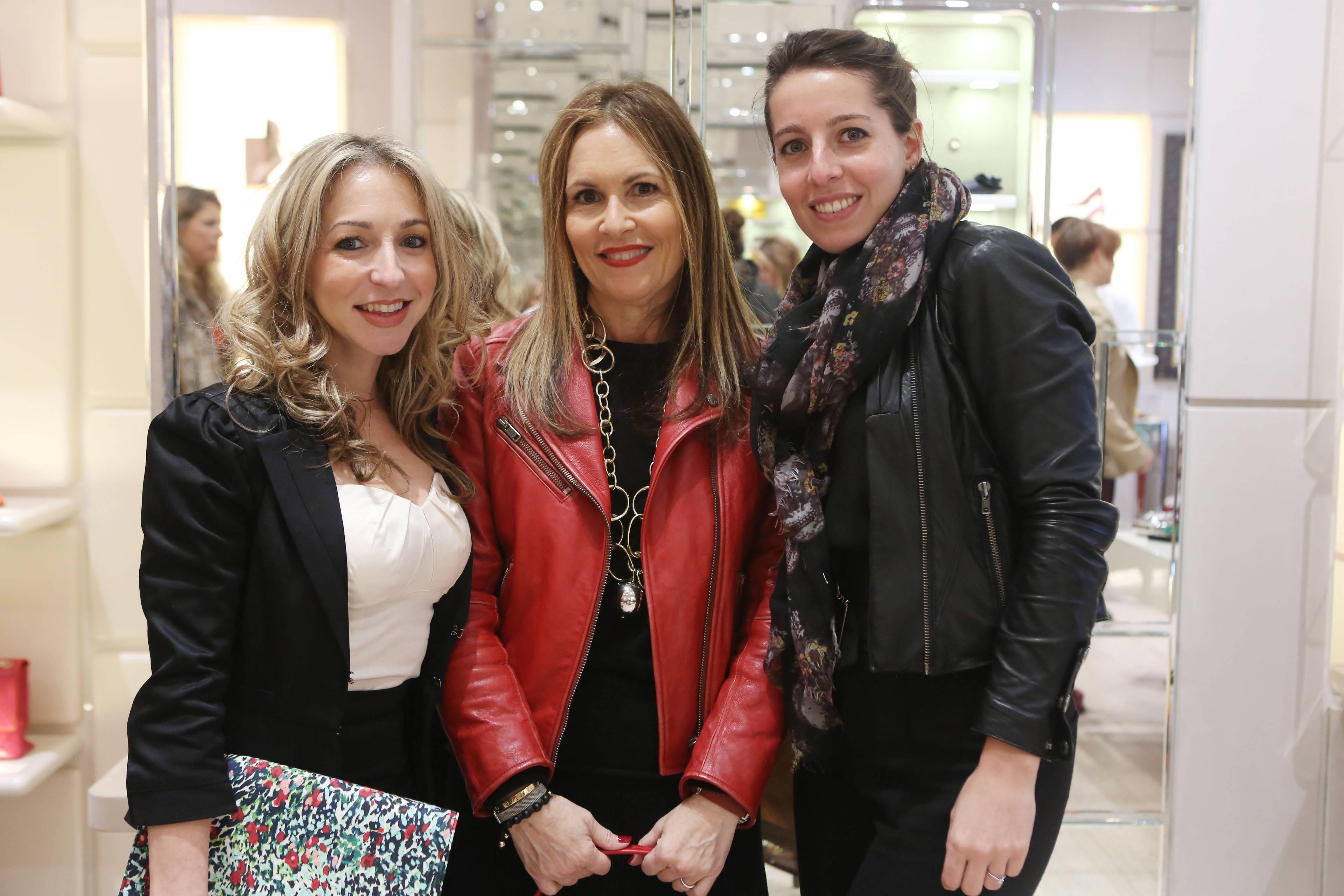 Amanda Alvarez, Robbin Newman, & Cederique Montagnon