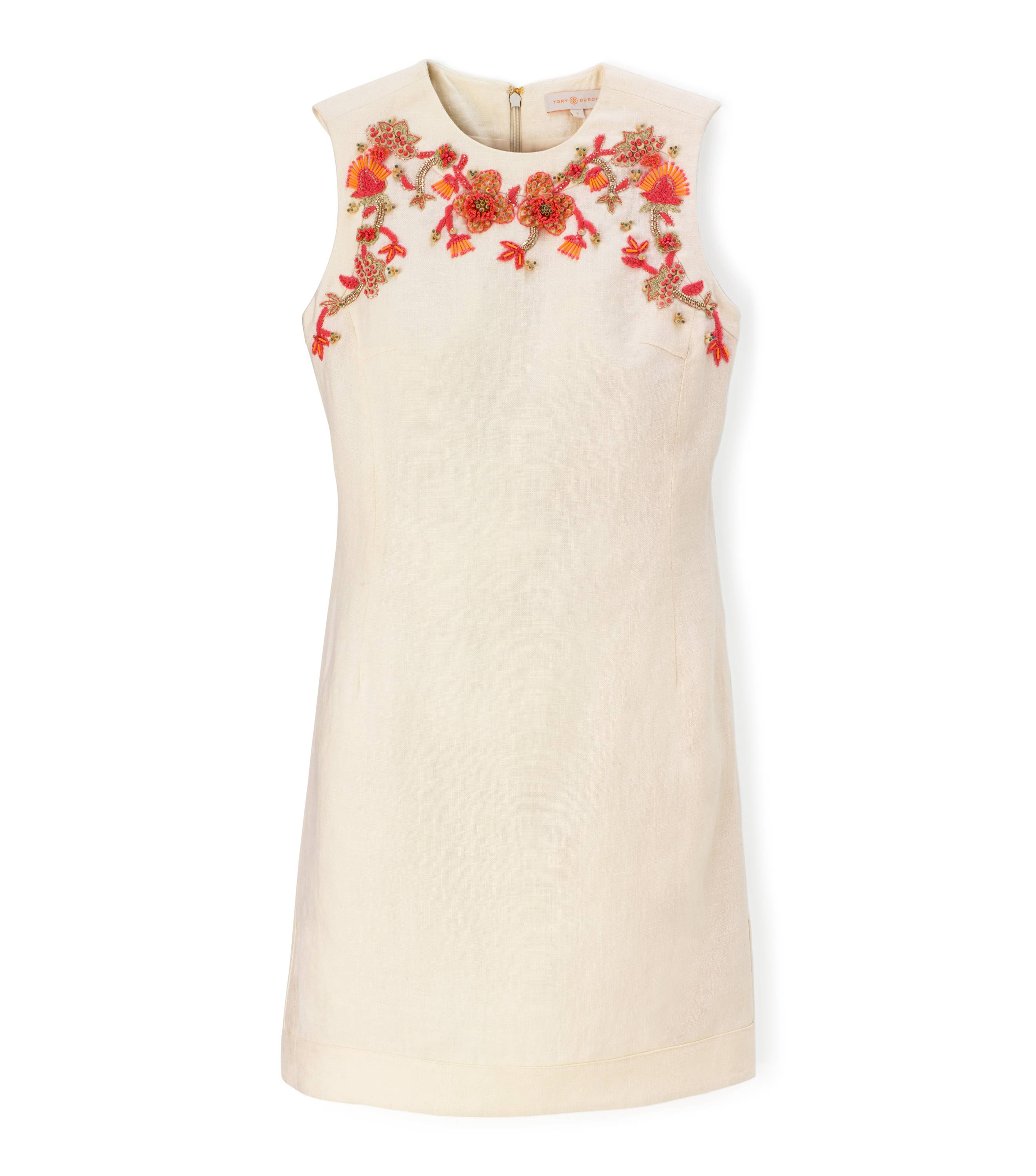 TB Leona Dress in New Ivory- Updated  Image