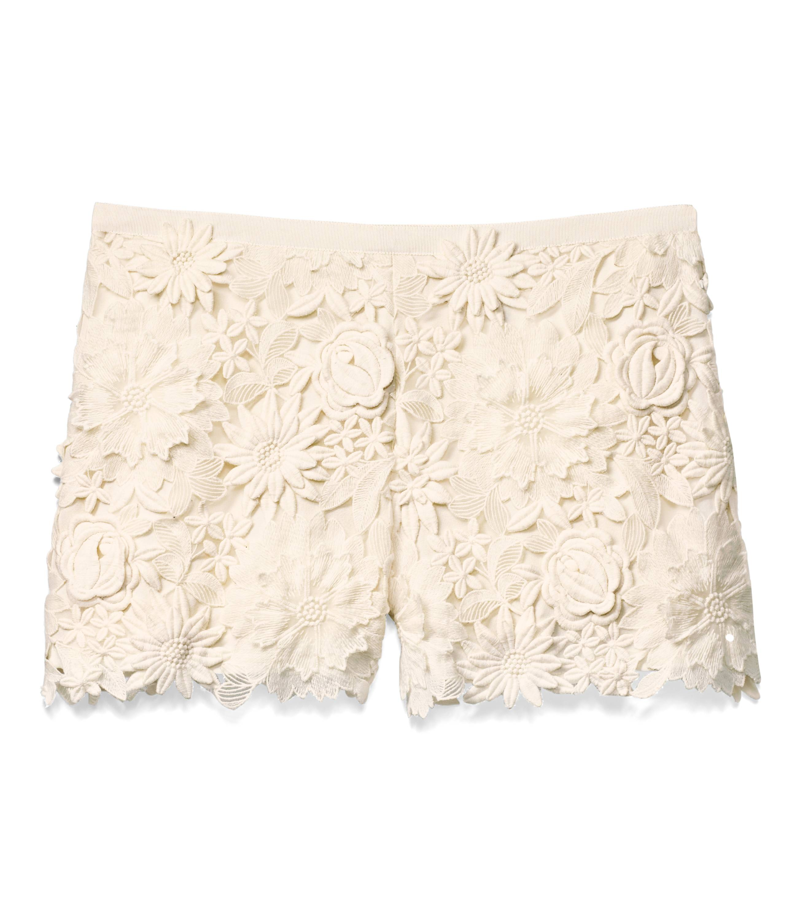 TB Noelle Short in Ivory