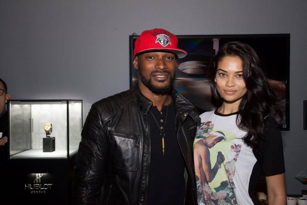 Tyson Beckford (model,actor), Shanina Shaik (model)