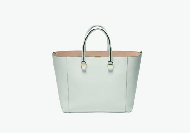 Victoria Beckham SS2014 _white liberty bag