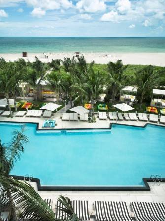 W South Beach Hotel & Residences Pool