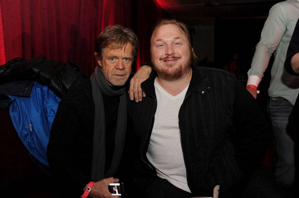 William H Macy and producer Keith Kjarval at TAO at Village at the Lift with Moet & Chandon and Stella Artois. Photos: Seth Browarnik/WorldRedEye.com