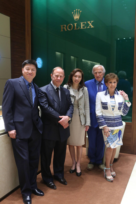 John Zhu, Robert Baumgardner, Jenny Zhu, Seymour Holtzman & Evelyn Holtzman