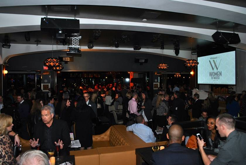 02.04.14 Crowd at VEGAS INC's Women to Watch Awards in Hyde Bellagio_photo credit Jessie Ayala