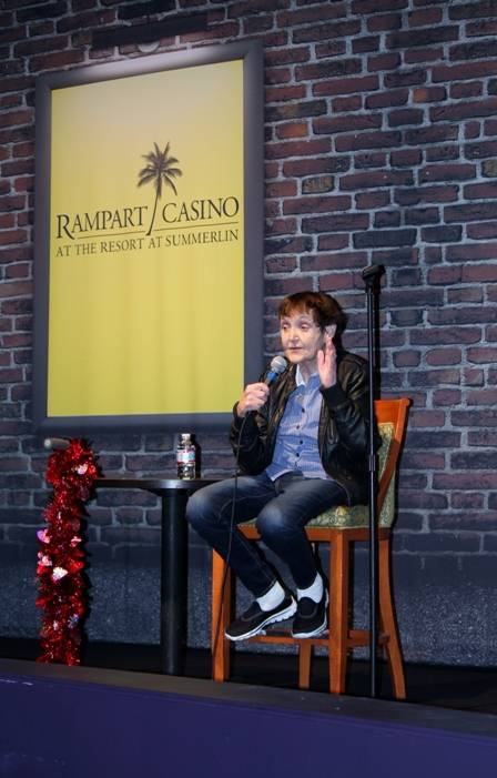 02.13.14 Grandma Lee  at Bonkerz Comedy Club inside Rampart Casino_photo credit Joy Kennelly