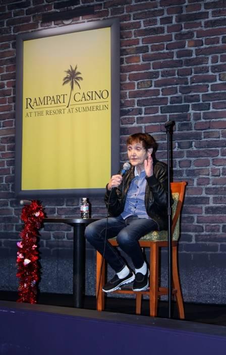 02.13.14 Grandma Lee  at Bonkerz Comedy Club inside Rampart Casino_photo credit Joy Kennelly