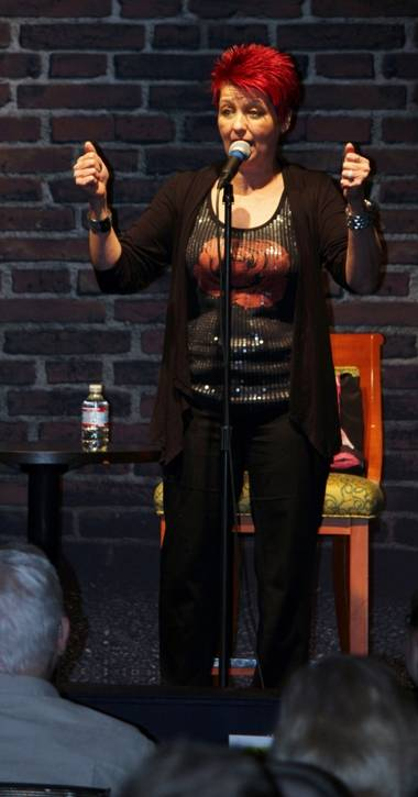 02.13.14 Lynn Yafchak at Bonkerz Comedy Club inside Rampart Casino_photo credit Joy Kennelly