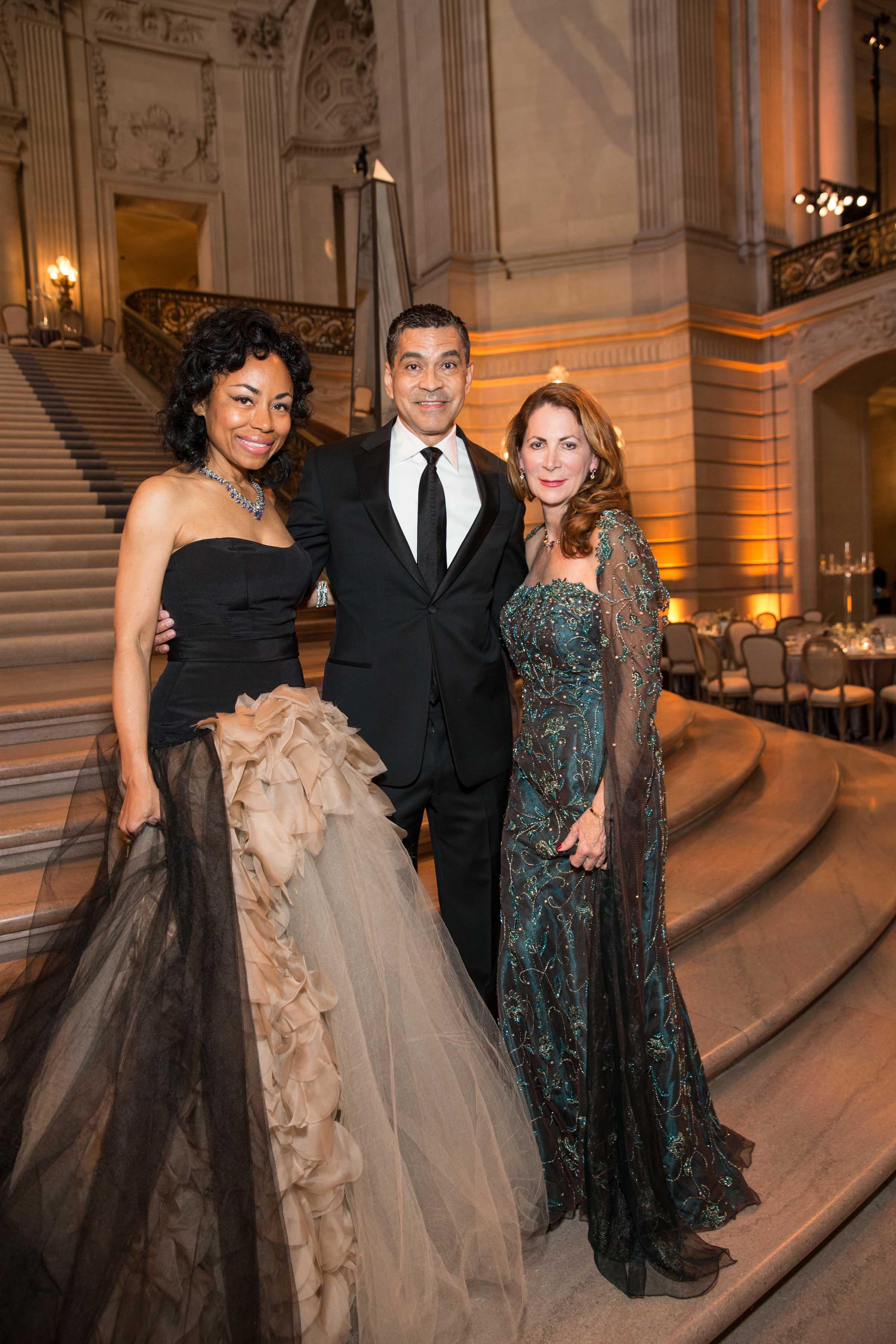 Tanya Powell, Daniel Diaz and Patricia Ferrin Loucks  Credit: Drew Altizer Photography