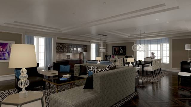 The Presidential Suite at The Cromwell