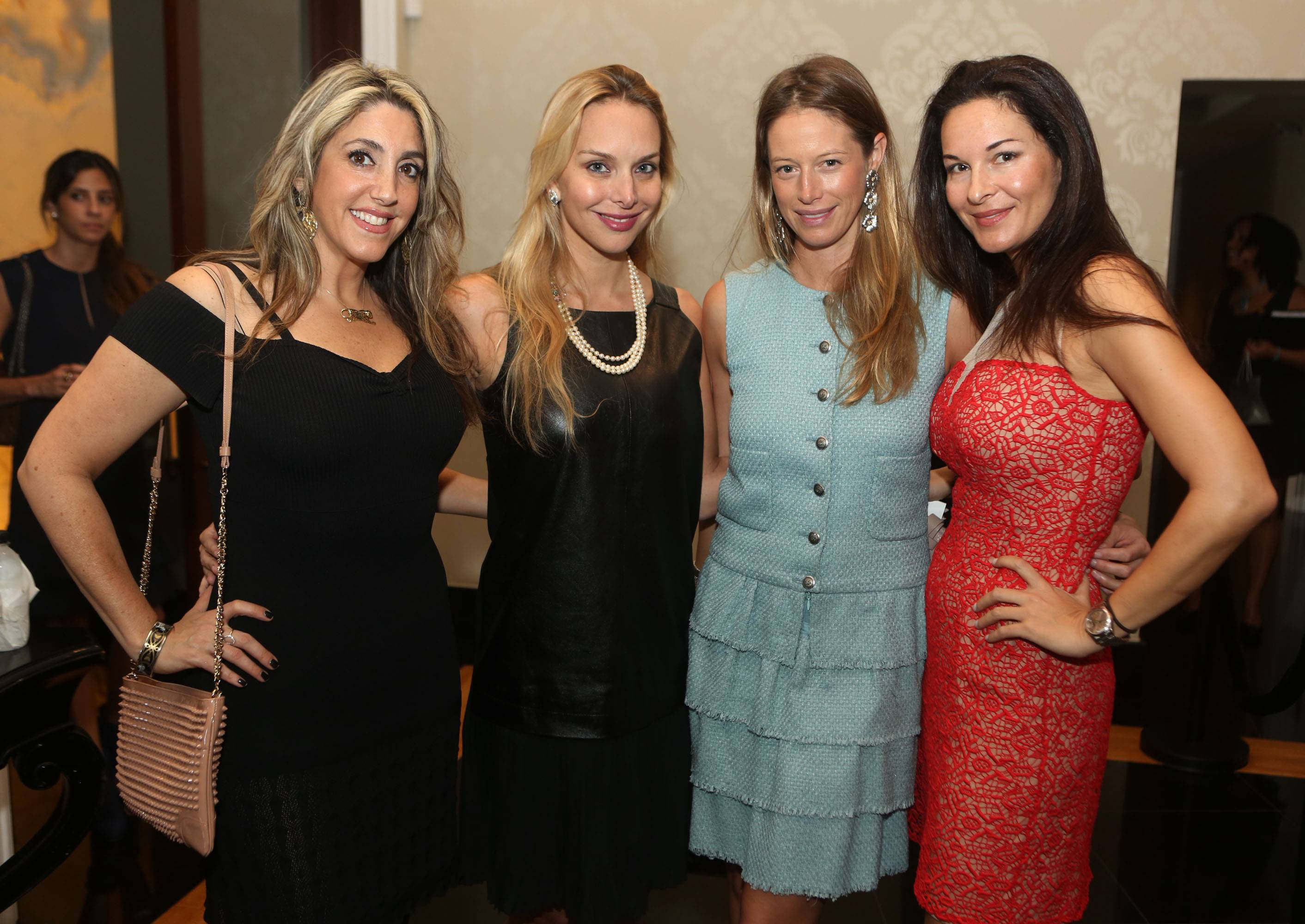 Jillian Jacobson, Christina Getty, Sara Colombo, & Nathasha Dubarry