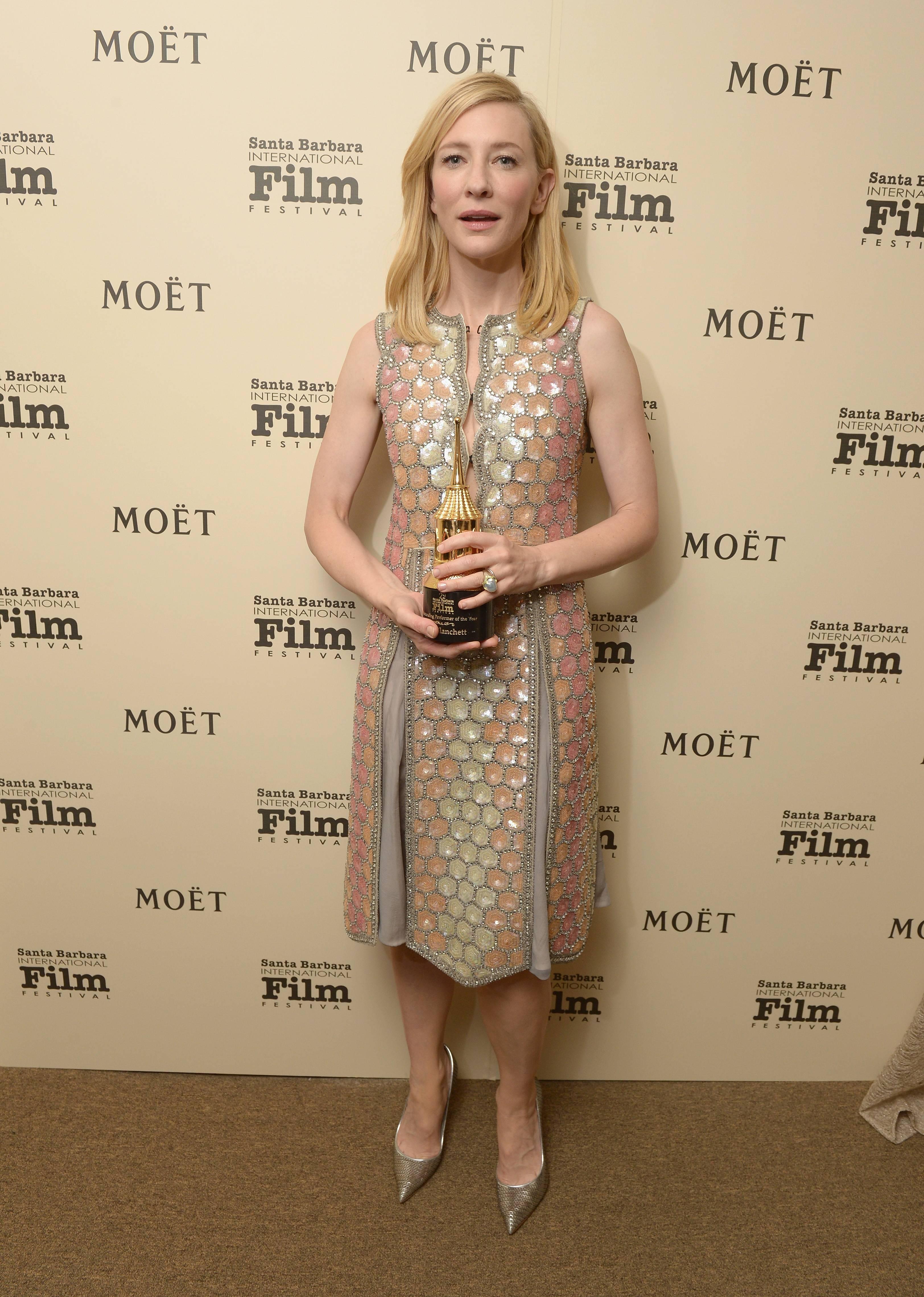 The Moet & Chandon Lounge at The 2014 Santa Barbara International Film Festival -  Honoring Cate Blanchett