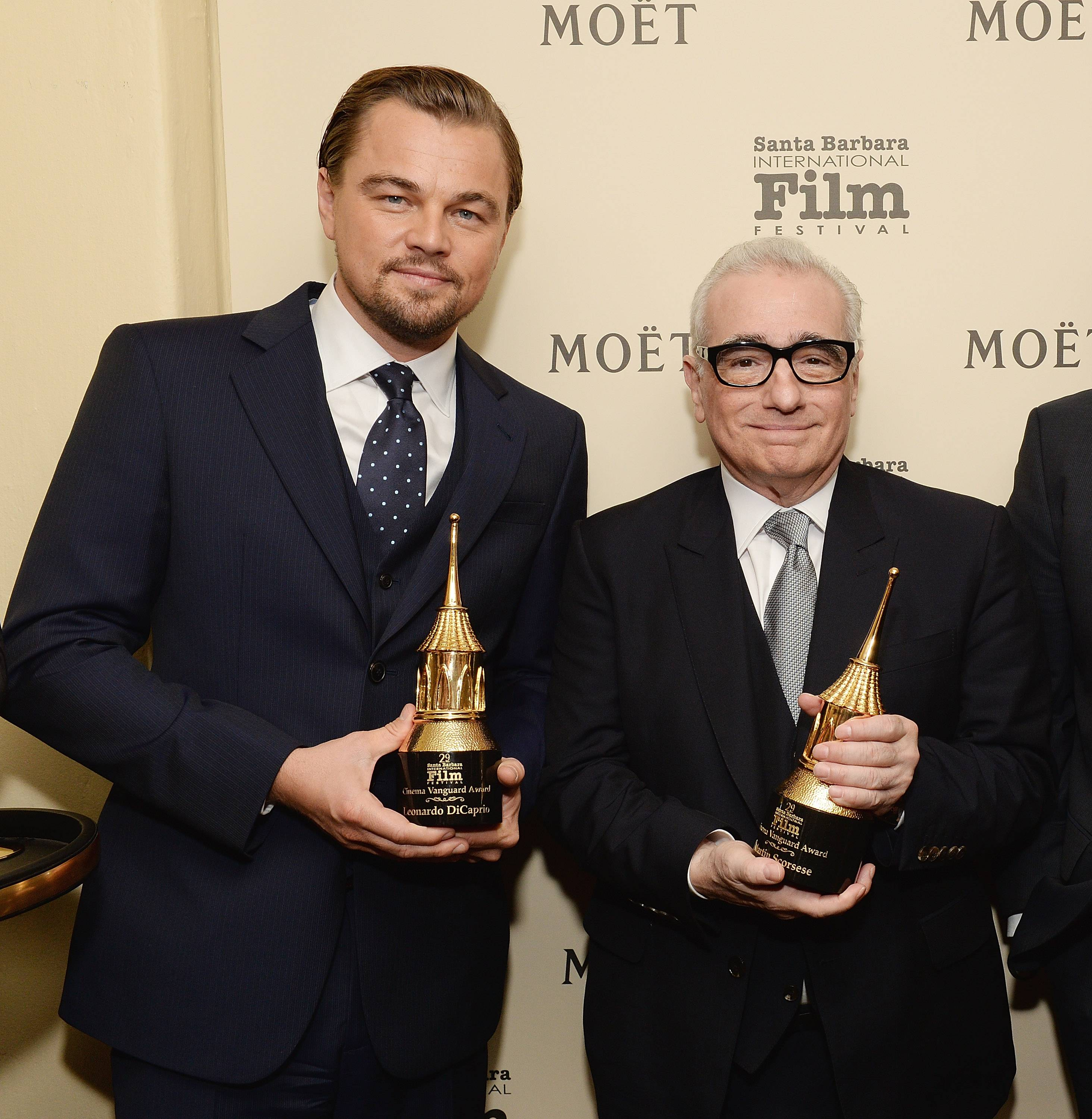 The Moet & Chandon Lounge At The Santa Barbara International Film Festival Honoring Martin Scorsese And Leonardo DiCaprio