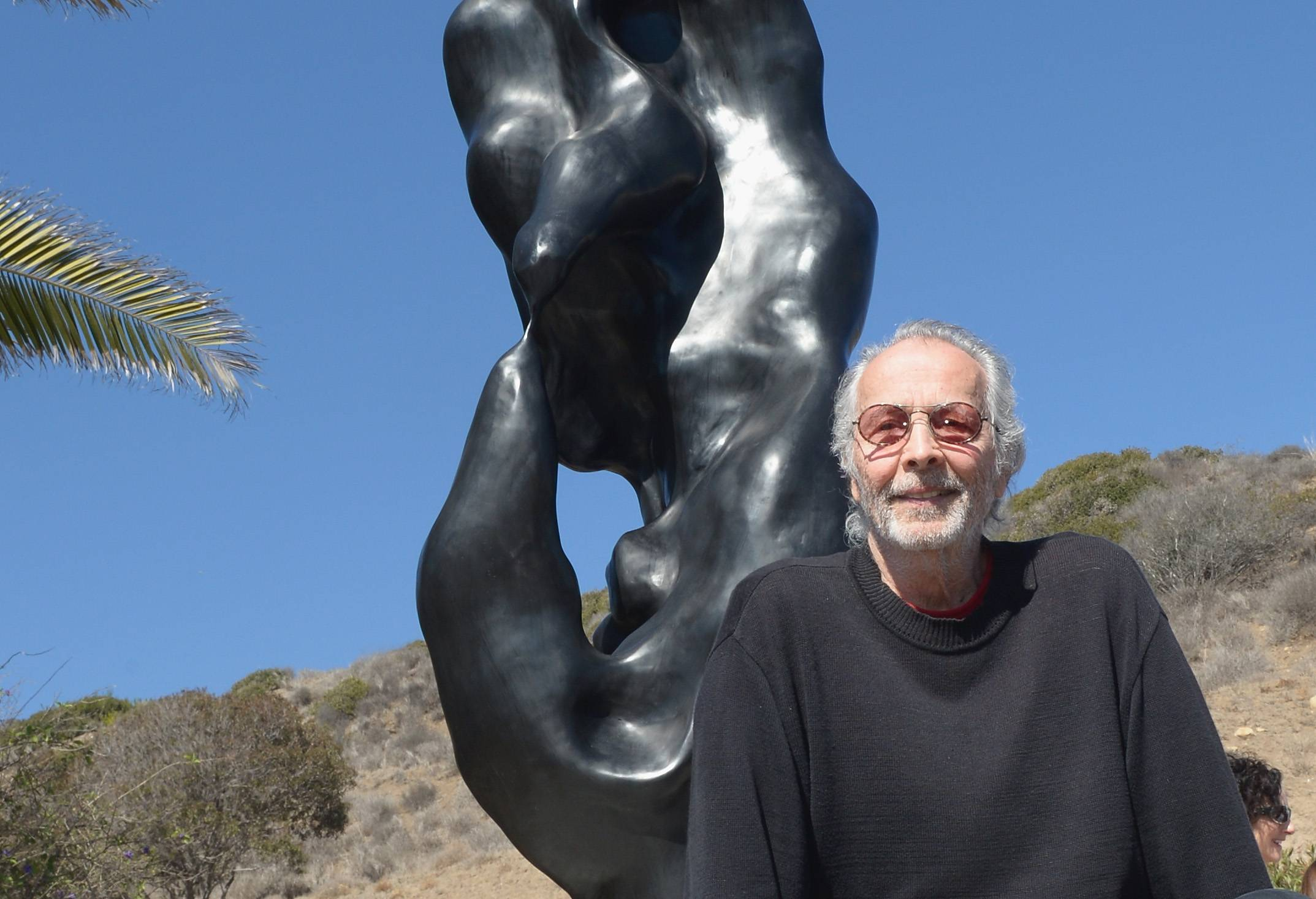 Herb Alpert And His Totem Sculpture 'Freedom' Honored in Malibu