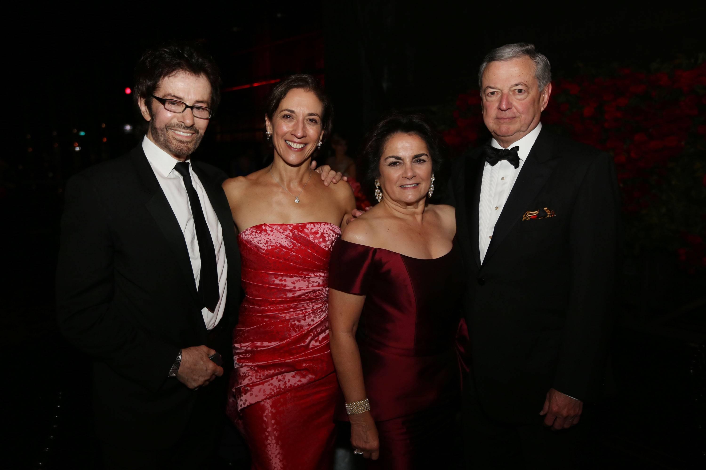 George Chakiris, Lourdes Lopez, Maggie Codina, & Armando Codina