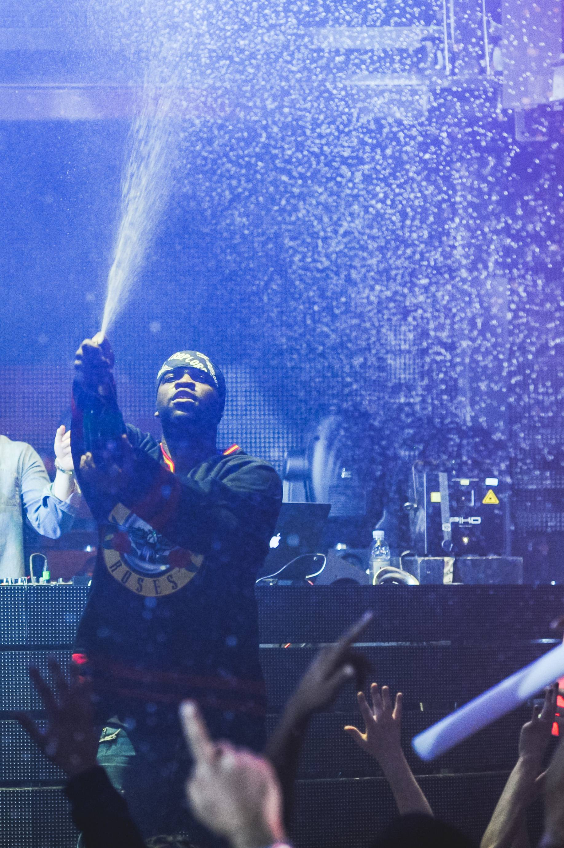 A$AP Ferg_Champagne Shower at Marquee