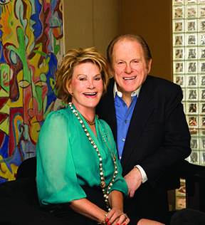 CBS Board Members Arnold and Anne Kopelson.