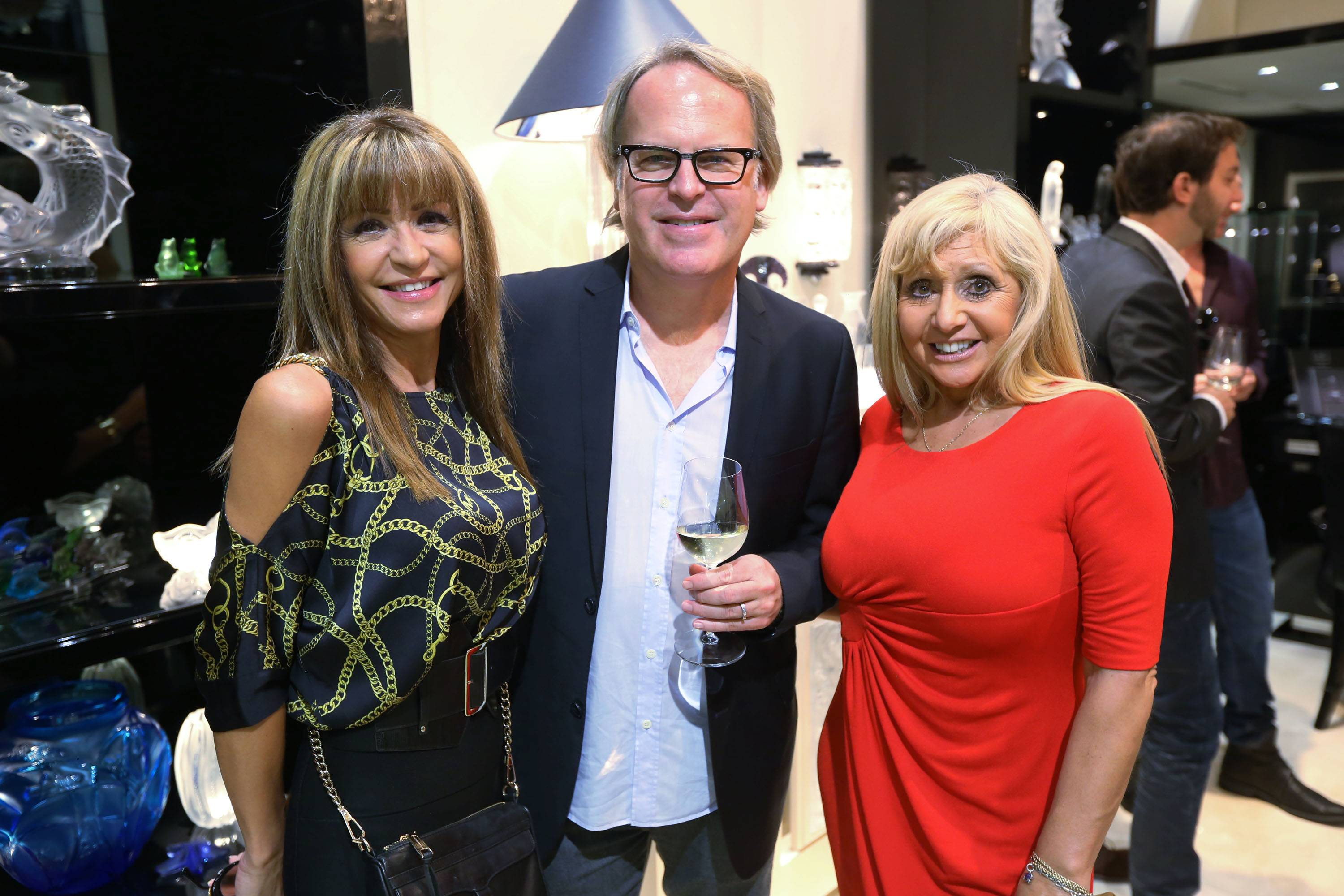 Christina Balinotti, James Suckling, & Olga Betancourt