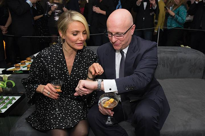 Cameron Diaz and Stephane Linder