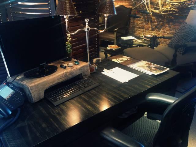 Catherine's desk