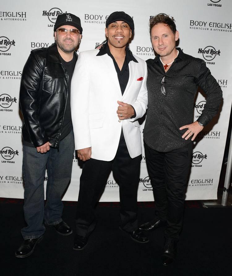 Color Me Badd performs in Las Vegas, NV