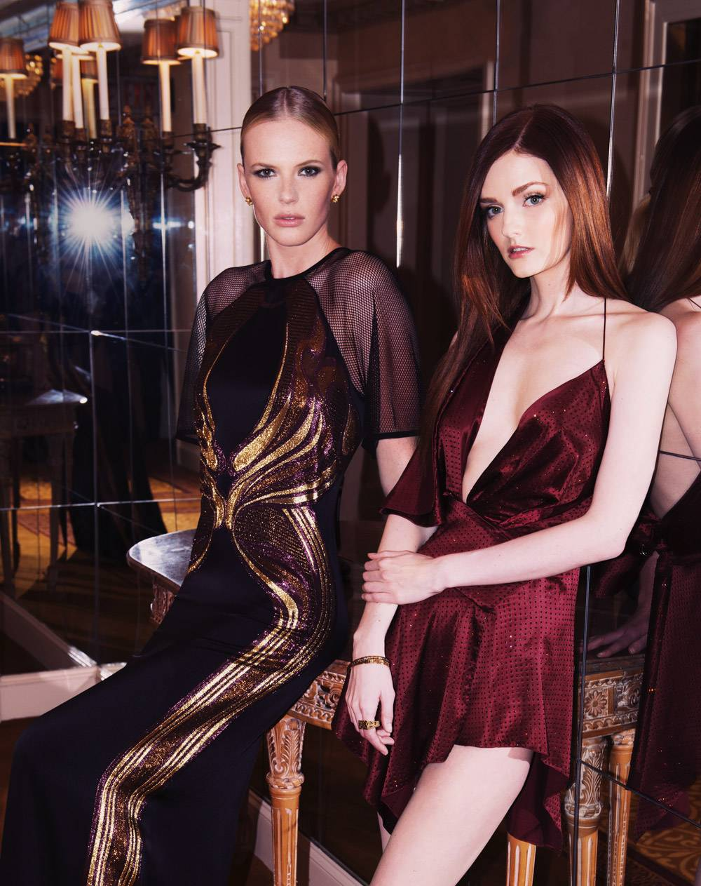 Anne V and Lydia Hearst