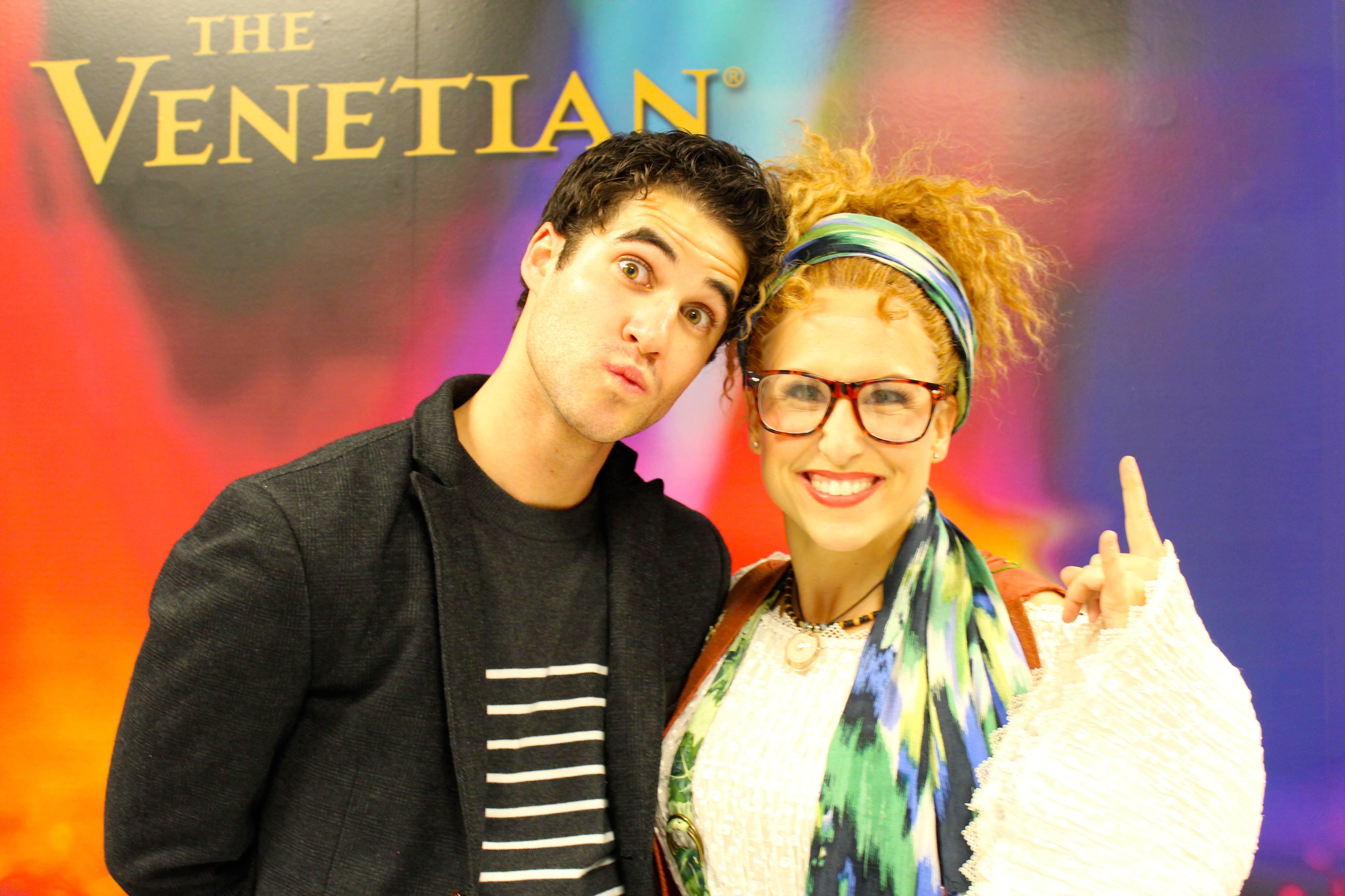 Darren Criss with Tiffany Engen