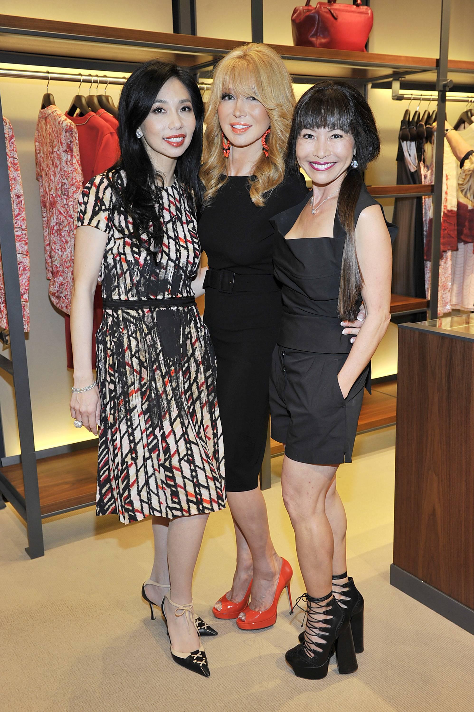 Elizabeth An, Elizabeth Segerstrom, Keiko Sakamoto Witte