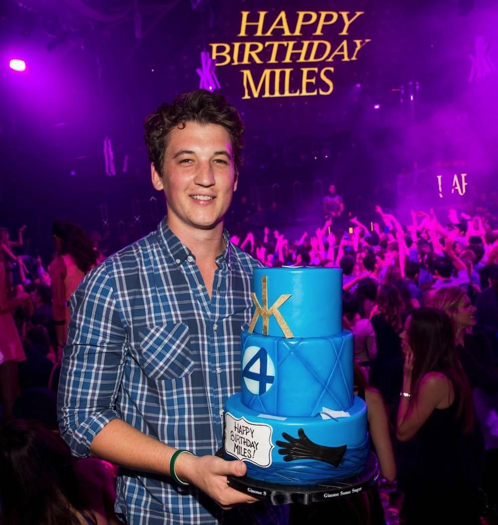 Hakkasan Nightclub_Miles Teller Birthday Cake
