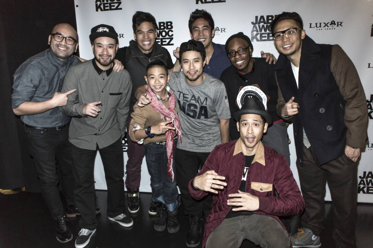 Jabbawockeez, Bailrok, D-Trix, friend_ Photo by Joshua Jose