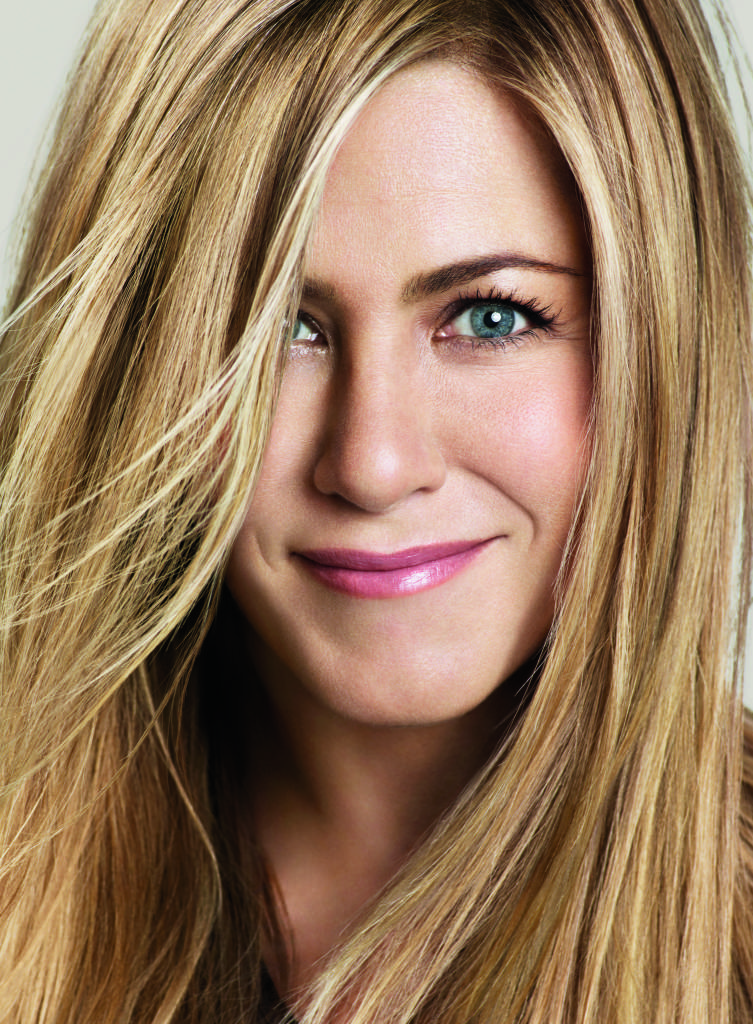 Jennifer Aniston, credit Living Proof