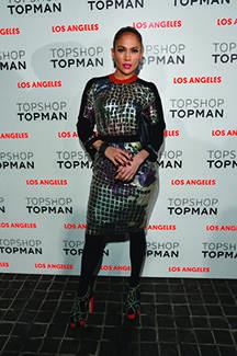 Topshop Topman LA Opening Party - Red Carpet