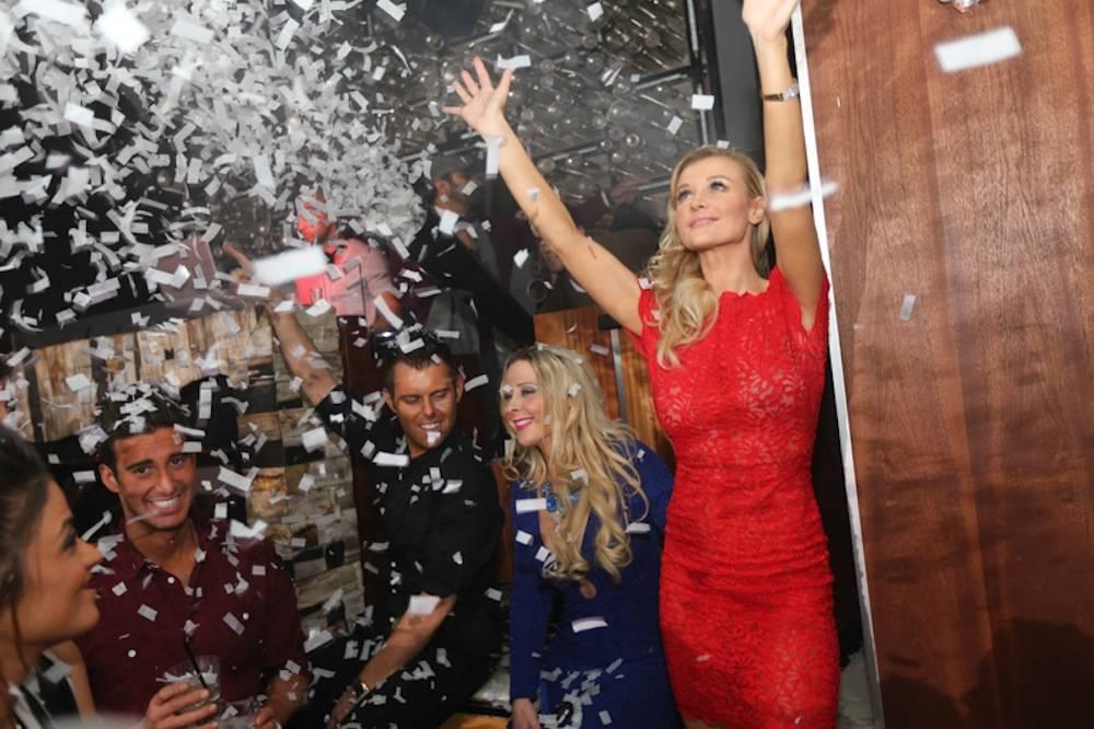 Joanna Krupa dances at Hyde Bellagio, Las Vegas, 2.1.14