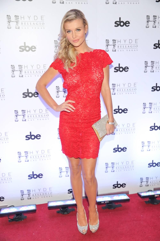 Joanna Krupa hosts pre-game bash at Hyde Bellagio, Las Vegas, 2.1.14