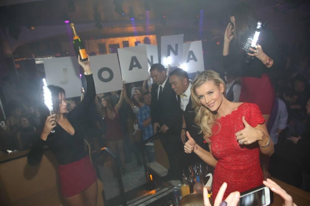 Joanna Krupa hosts pre-game party at Hyde Bellagio, Las Vegas, 2.1.14